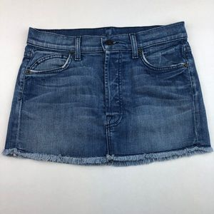 7 FOR ALL MANKIND Skirt Denim 5 pocket size 2